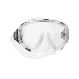 ScubaPro Flux Mask Clear with Clear Skirt Front
