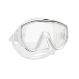 ScubaPro Flux Mask White with Clear Skirt