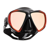 ScubaPro Spectra with Mirrored Lens Bronze Black with Black Skirt