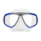 ScubaPRo Zoom Mask Clear Silicone Blue Gray