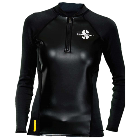 ScubaPro Women's Hybrid Thermal Long Sleeve Top