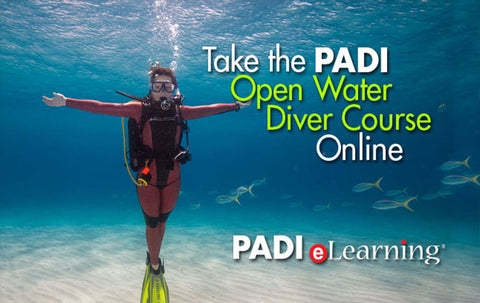 PADI Open Water Diver e-learning gift pass!
