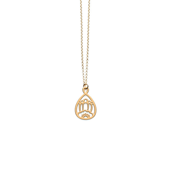 Gold Belle Pendant