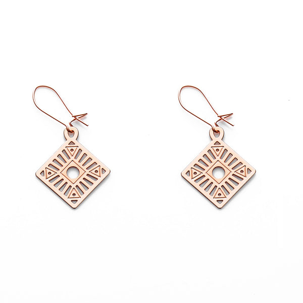 Rose Gold Koda Earrings
