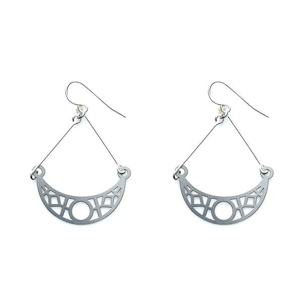 SS Crescent Earrings