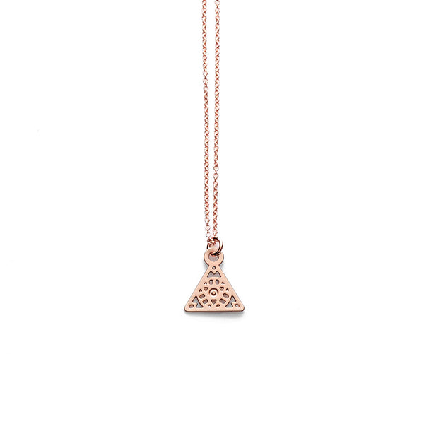 Rose Gold Nico Pendant