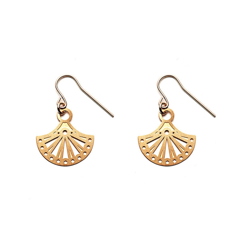 Gold Allegra Earrings