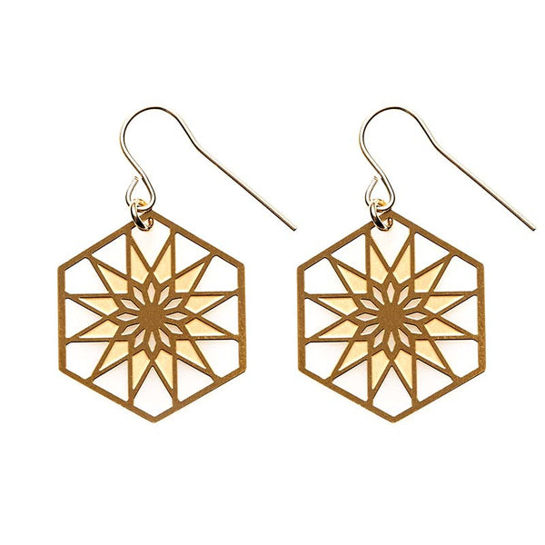 Gold Atlantic Earrings