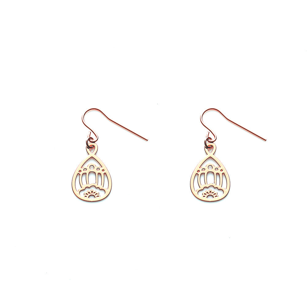Gold Belle Earrings