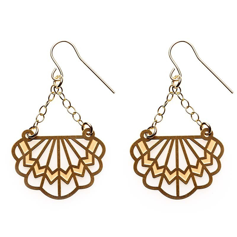 Gold Florence Earrings