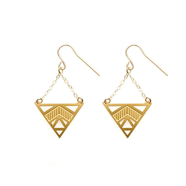 Gold Freya Earrings
