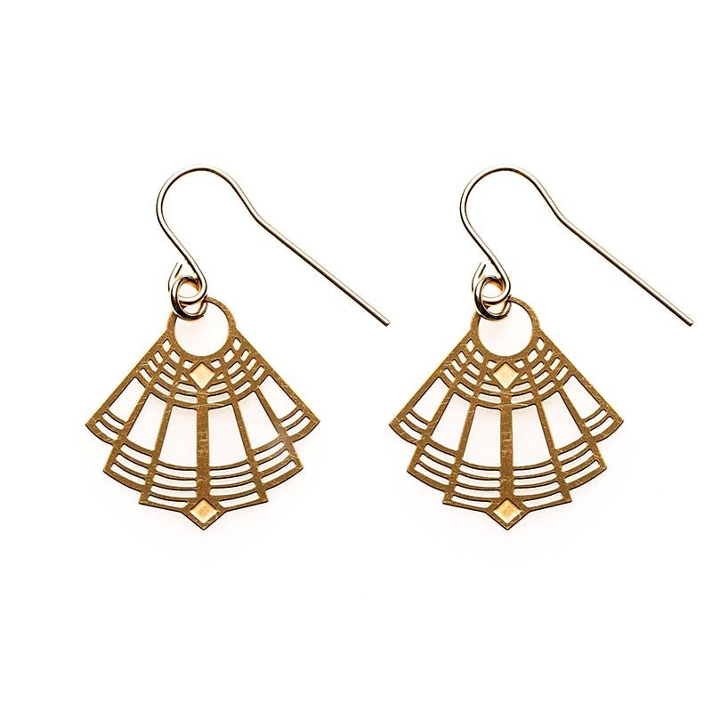 Gold Gigi Earrings
