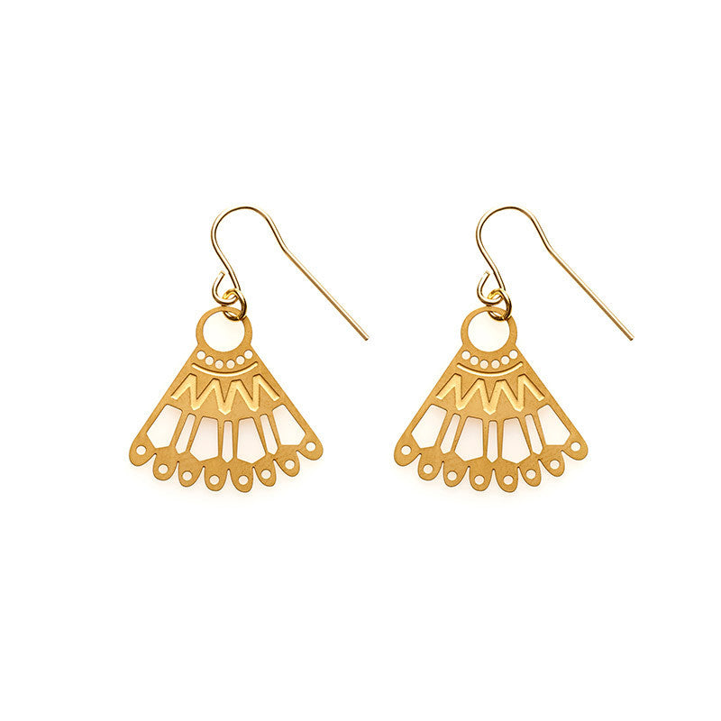 Gold Kiki Earrings