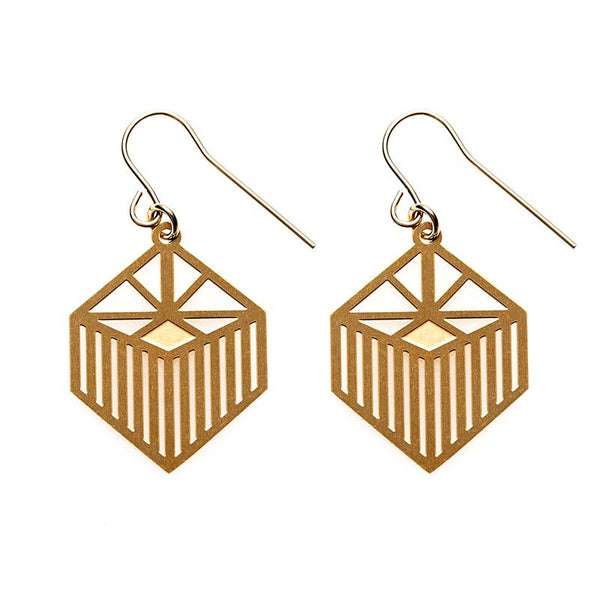 Gold Liberty Earrings