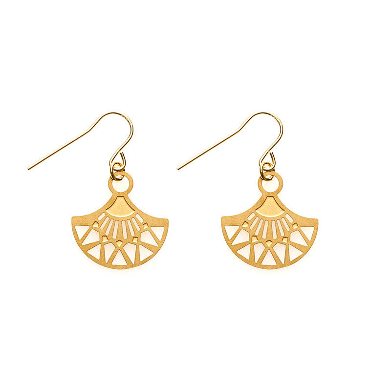Gold Maya Earrings