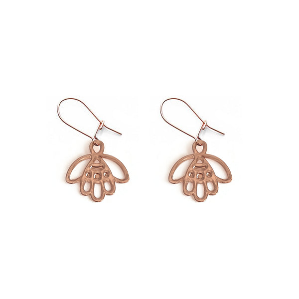 Rose Gold Bud Earring