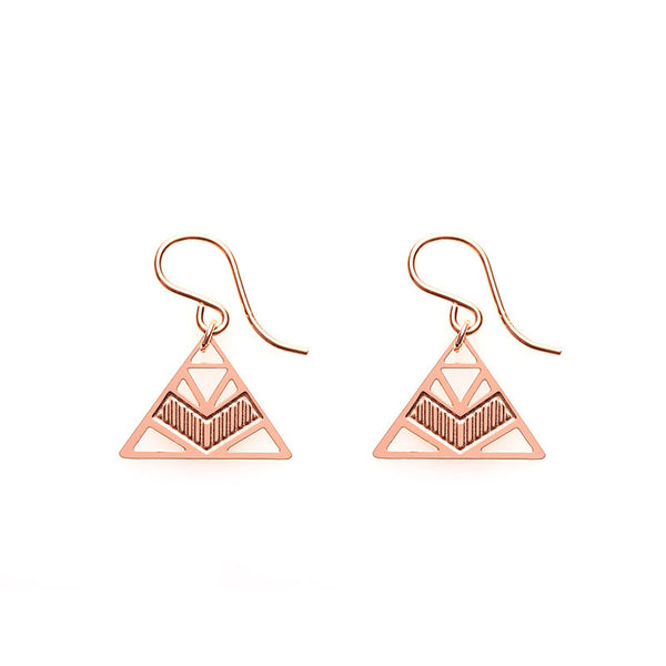 Rose Gold Eleta Earrings