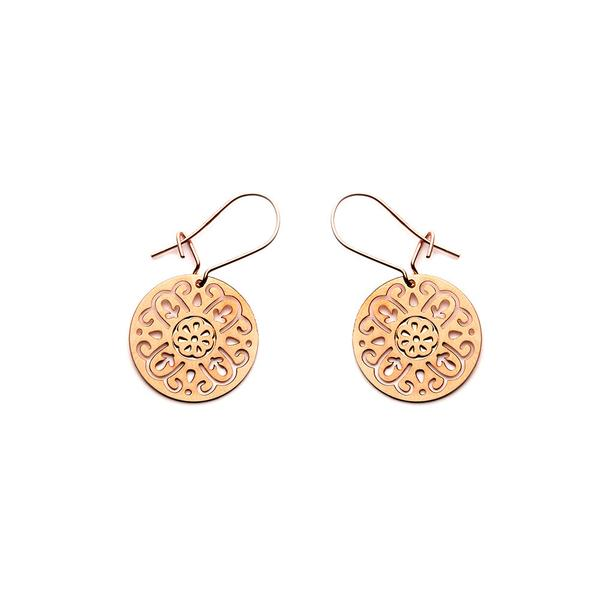 Rose Gold Rosa Earrings