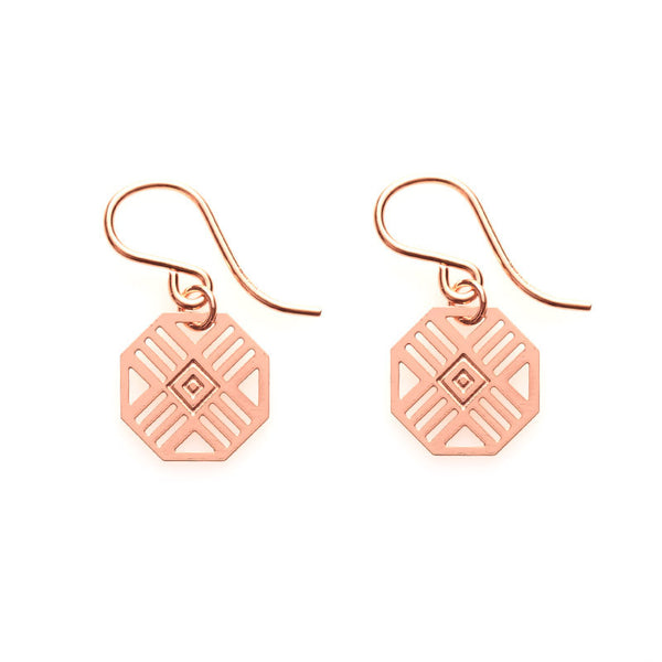 Rose Gold Zimi Earrings