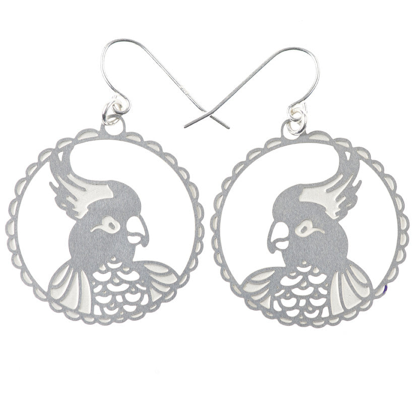 SS Cockatoo Earrings