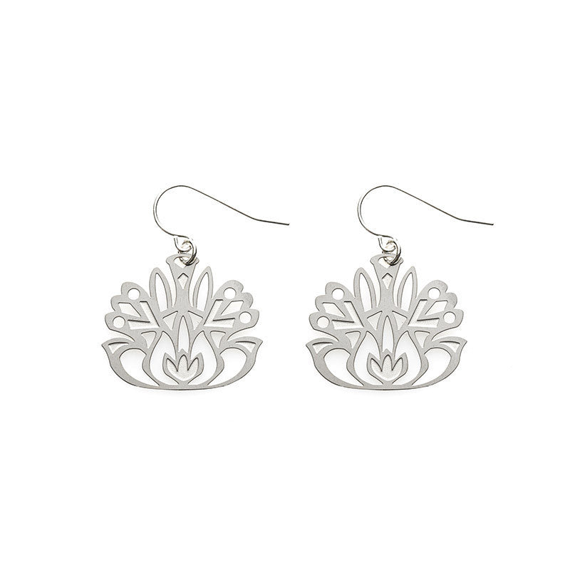 SS Folk Flower Earrings