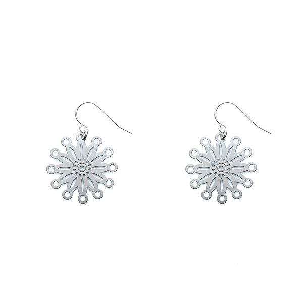 SS Fire Pinwheel Earrings