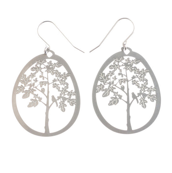 Fig Tree Large Earrings