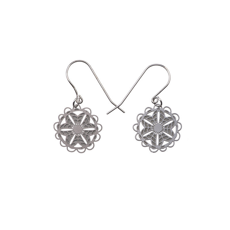 SS Doily - Small Earrings