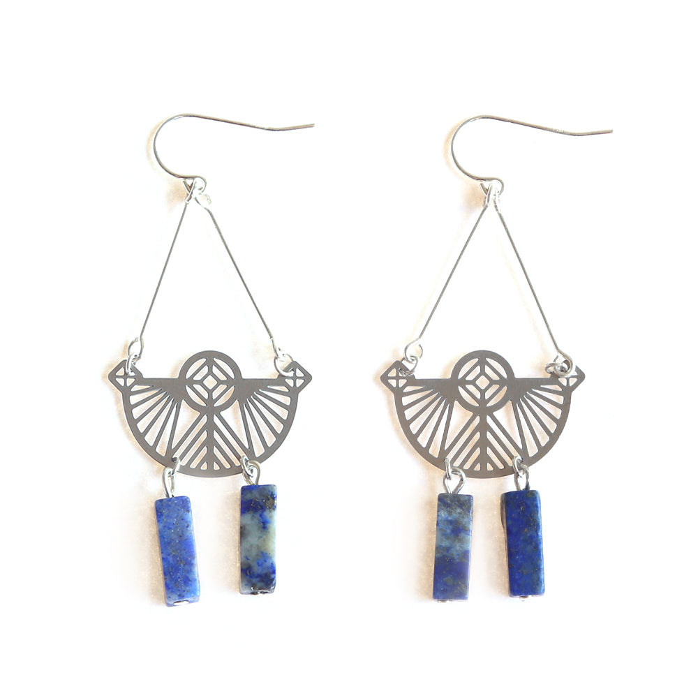 SS Petra Earrings - Lapis