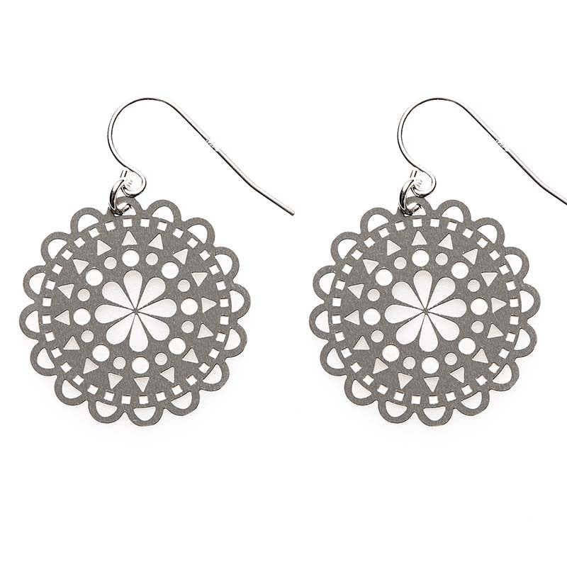 SS Sunburst Earrings