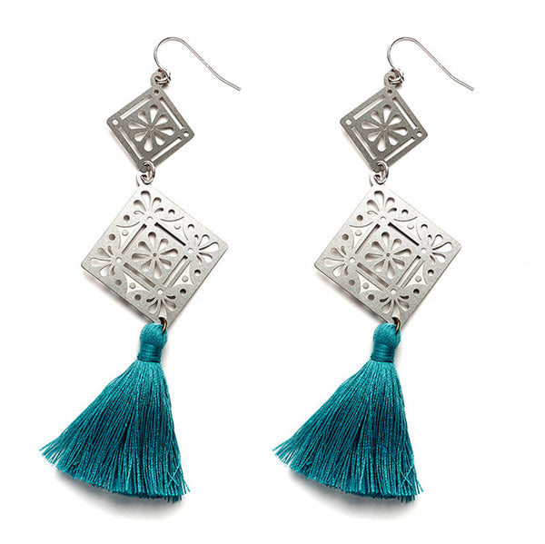 SS Valentina Tassel Earrings