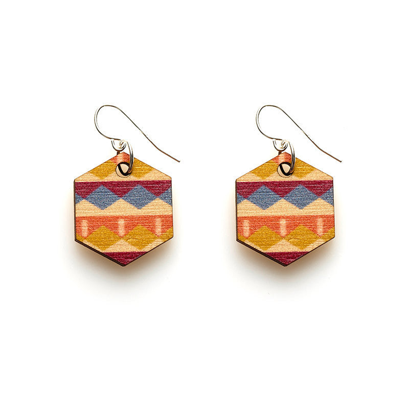 Hex Earrings - Arcadia