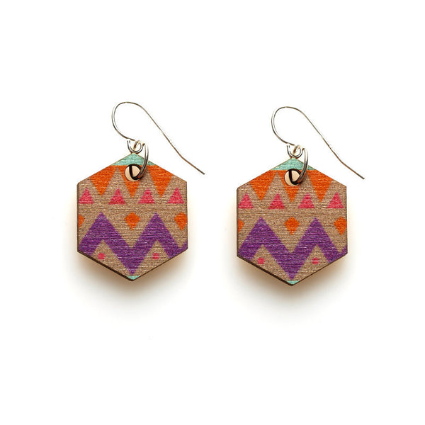 Hex Earrings - Halcyon