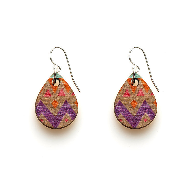Teardrop Earrings - Halcyon