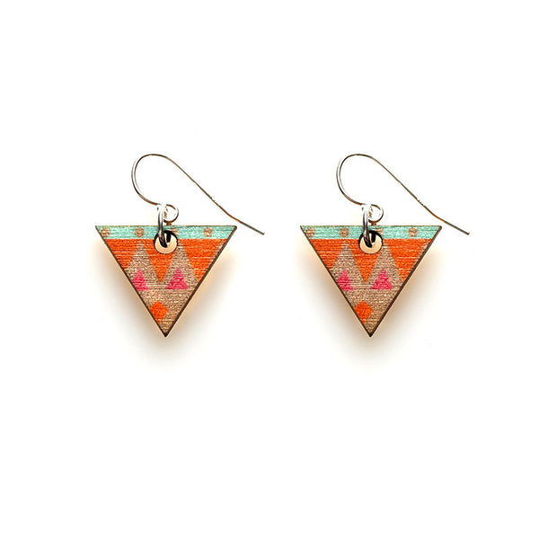 Tri Earrings - Halcyon
