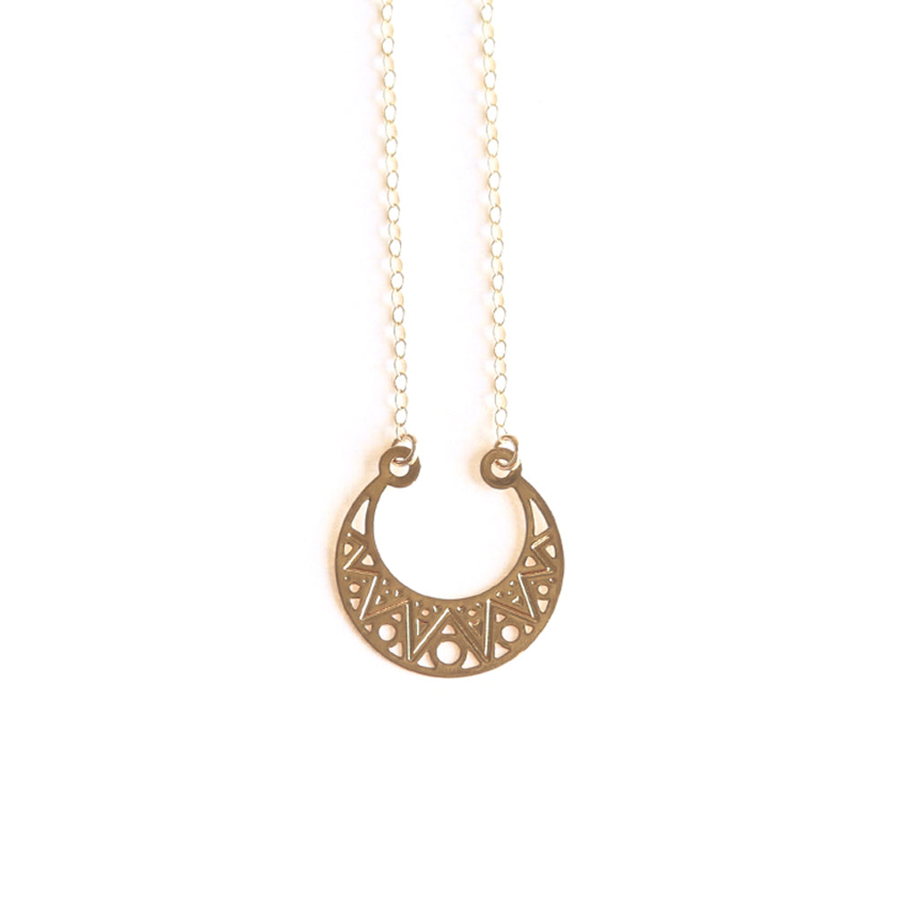 Gold Aroura Necklace