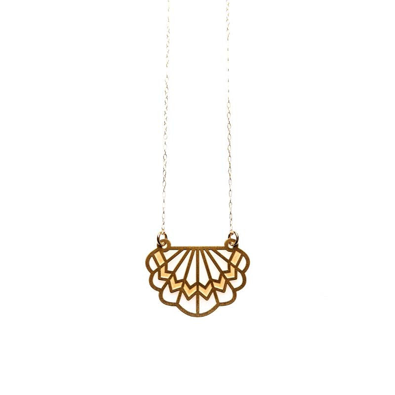 Gold Florence Necklace