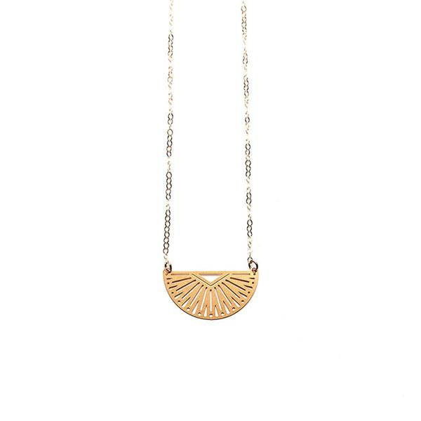 Gold Inca Necklace