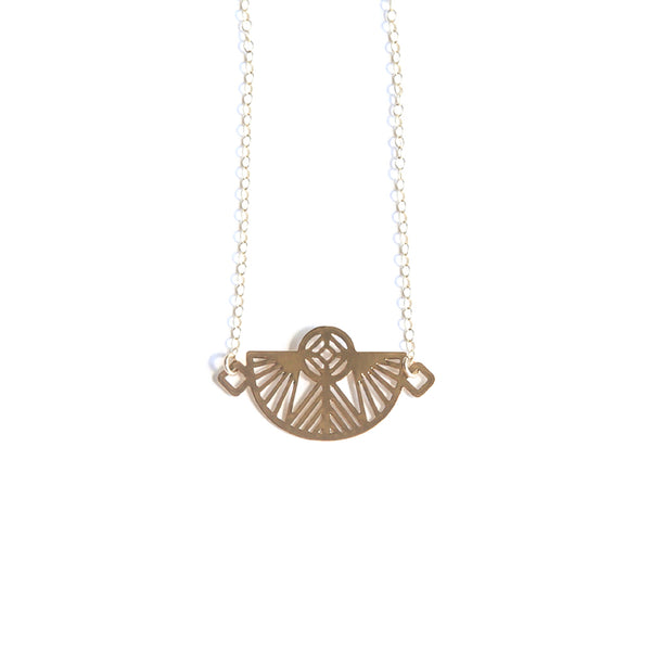 Gold Petra Necklace