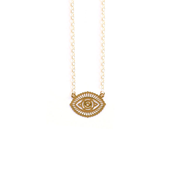 Gold Small Zodi Necklace