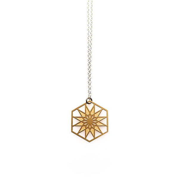 Gold Atlantic Pendant