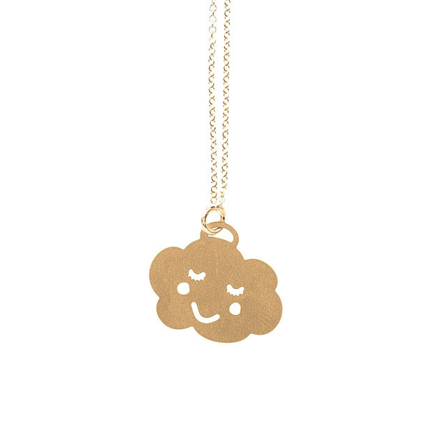 Gold Cloud Pendant