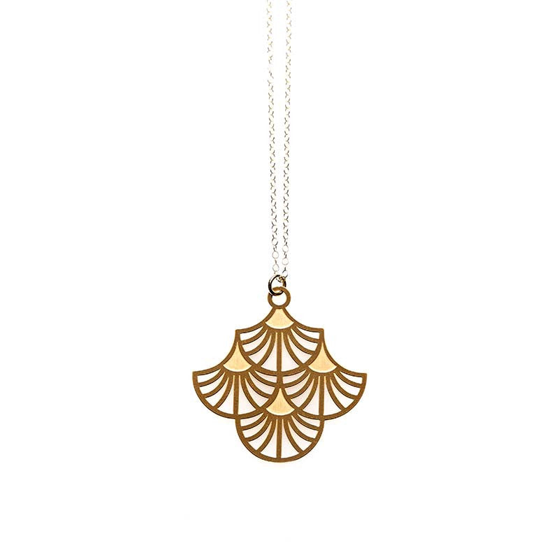 Gold Charleston Small Pendant