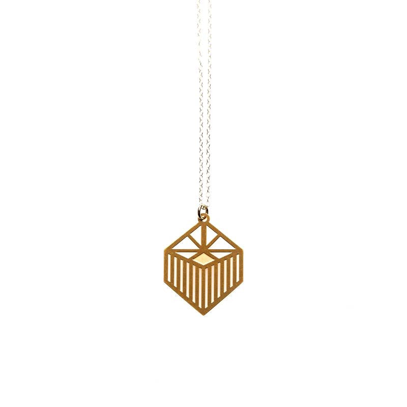 Gold Liberty Small Pendant