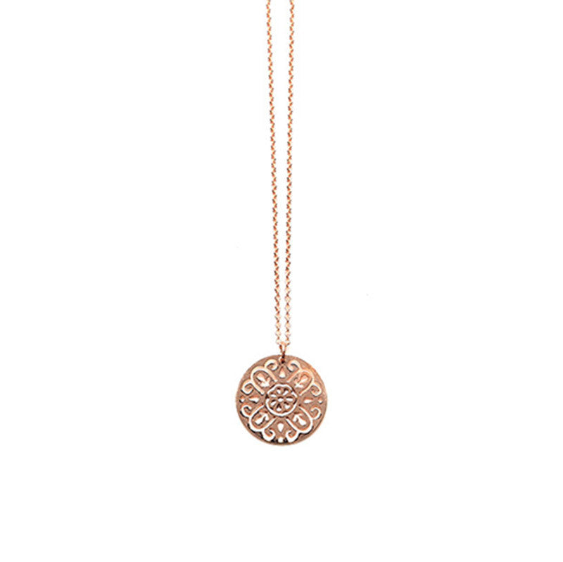 Rose Gold Rosa Pendant