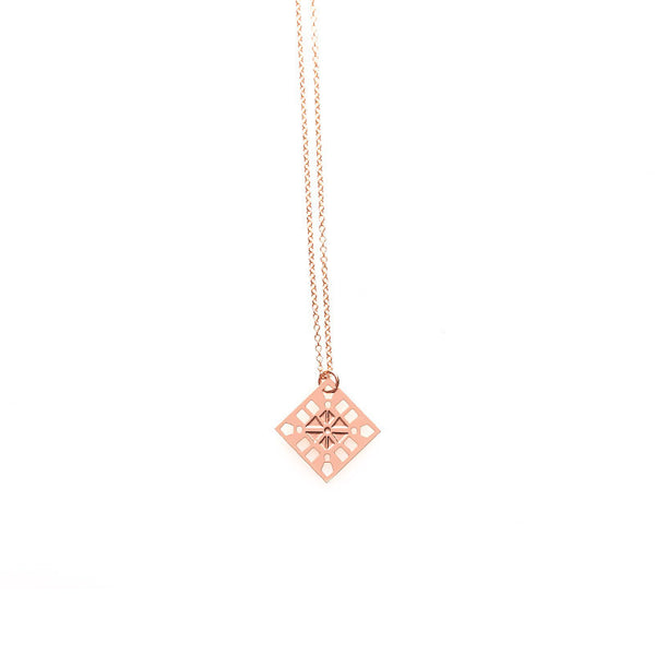 Rose Gold Sienna Pendant