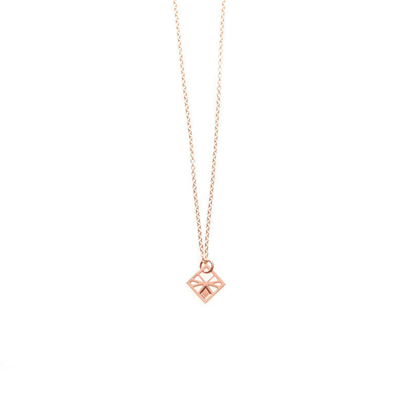 Rose Gold Tiny Arlo Pendant
