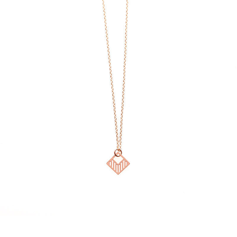 Rose Gold Tiny Luka Pendant