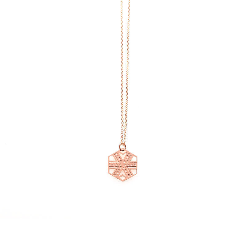Rose Gold Zara Pendant