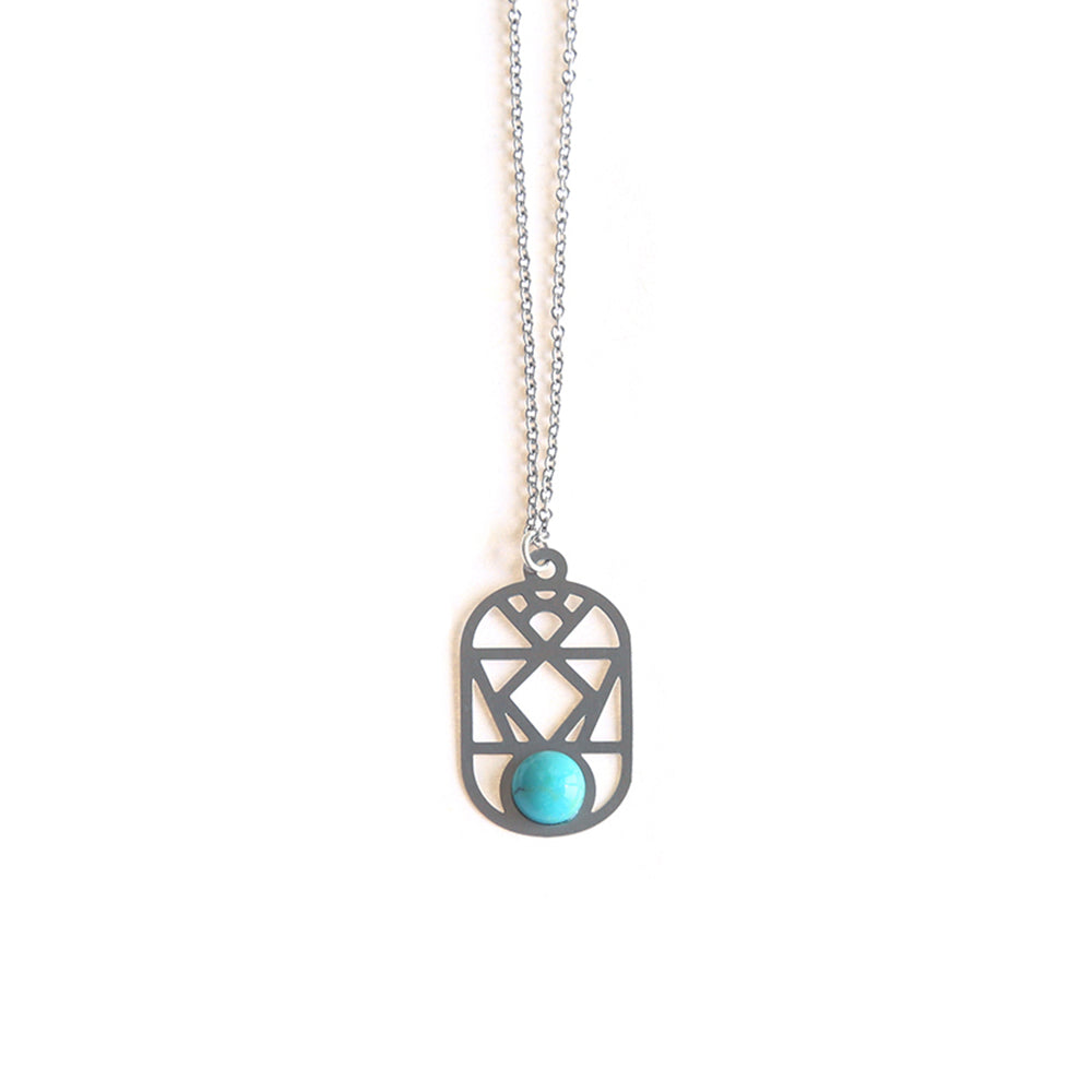 SS Nevada Pendant Turquoise